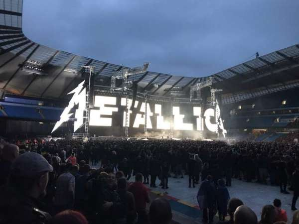 Etihad Stadium (Manchester), section: 123, row: G, seat: 662