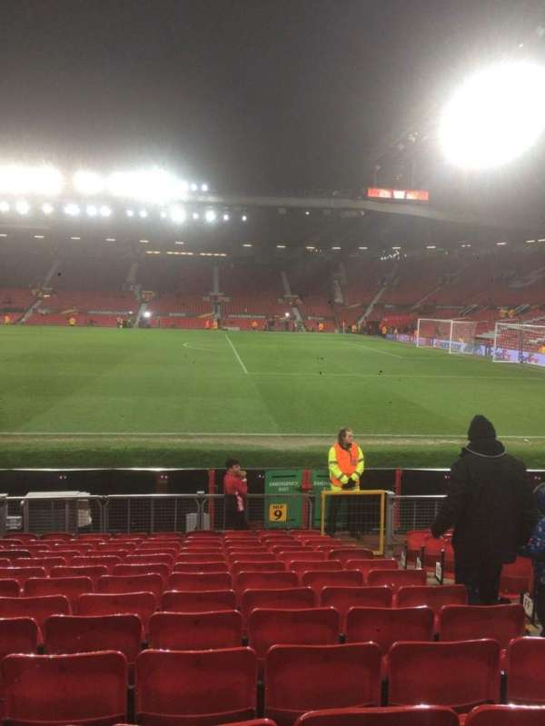 Old Trafford, section: North, row: Pp, seat: 2