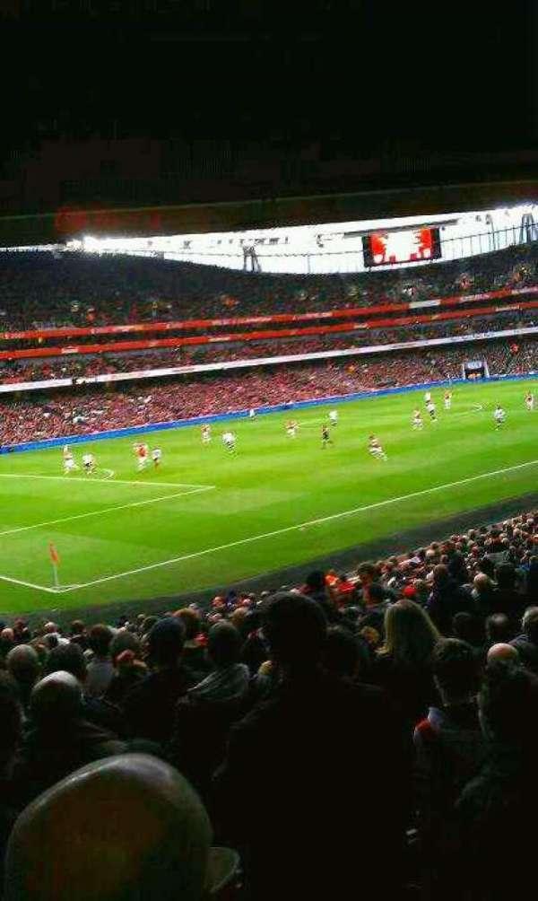Emirates Stadium, section: 120, row: 12 , seat: 7