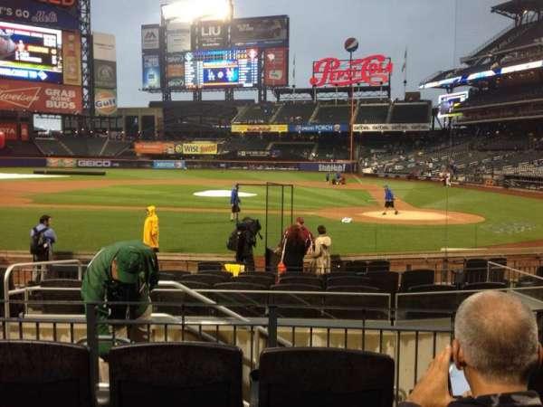 Citi Field, section: 18, row: 12, seat: 9