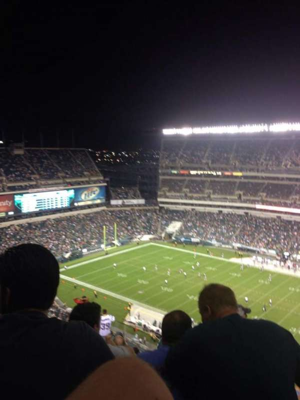 Lincoln Financial Field, section: 204, row: 19, seat: 18