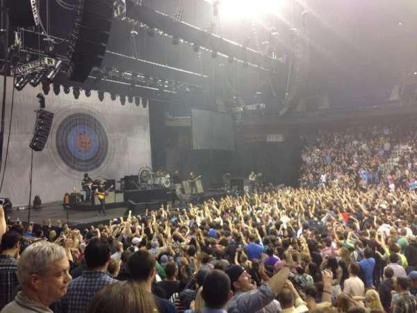Mohegan Sun Arena, section: 25, row: H, seat: 1