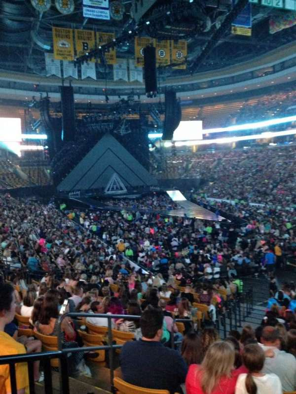 TD Garden, section: Loge 8, row: 19, seat: 21