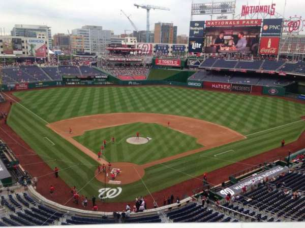 Nationals Park, section: 315, row: A, seat: 17
