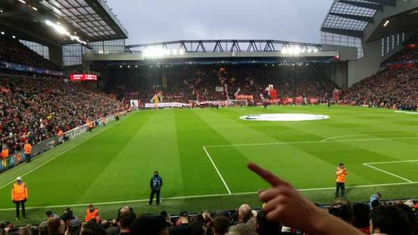 Anfield, section: 126, row: 20, seat: 157