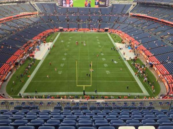 Empower Field at Mile High Stadium, section: 522, row: 10, seat: 8