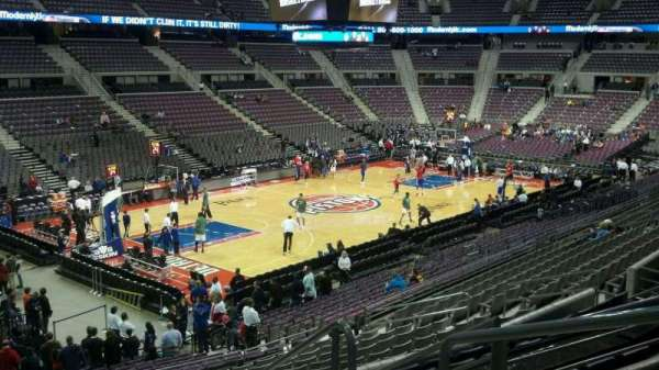 The Palace of Auburn Hills, section: 104, row: n, seat: 003