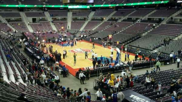 The Palace of Auburn Hills, section: 109, row: l, seat: 007