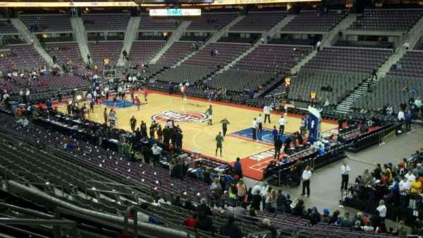 The Palace of Auburn Hills, section: 110, row: p, seat: 016