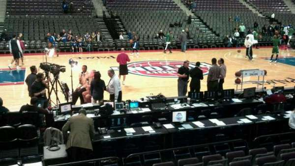 The Palace of Auburn Hills, section: 114, row: a, seat: 015