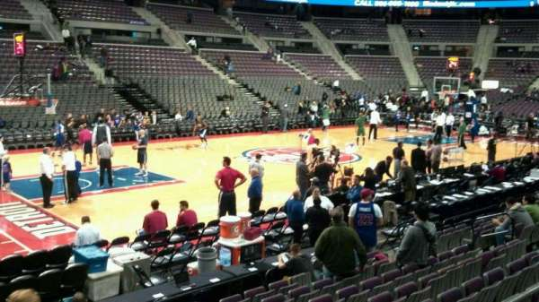 The Palace of Auburn Hills, section: 115, row: c, seat: 018
