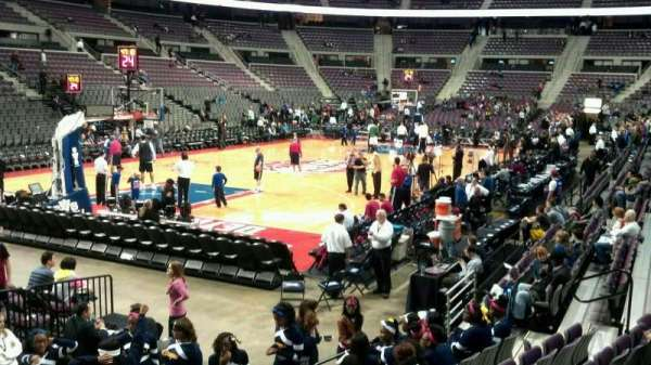 The Palace of Auburn Hills, section: 117, row: c, seat: 009