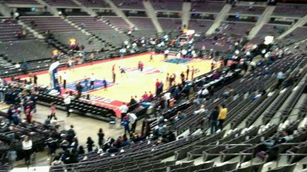 The Palace of Auburn Hills, section: 117, row: k, seat: 014