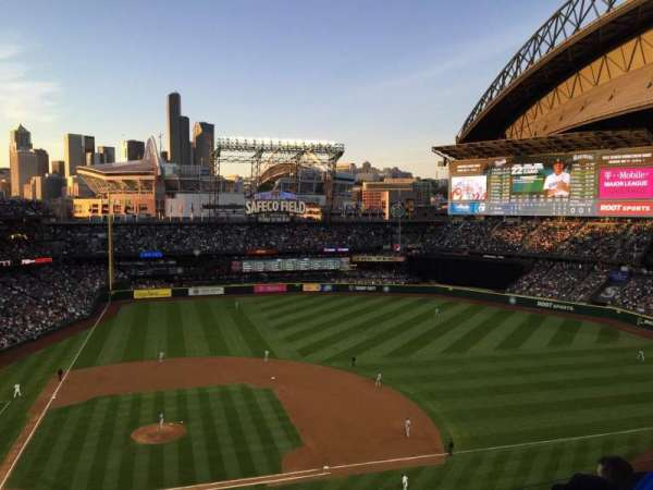 T-Mobile Park, section: 323, row: 4, seat: 23