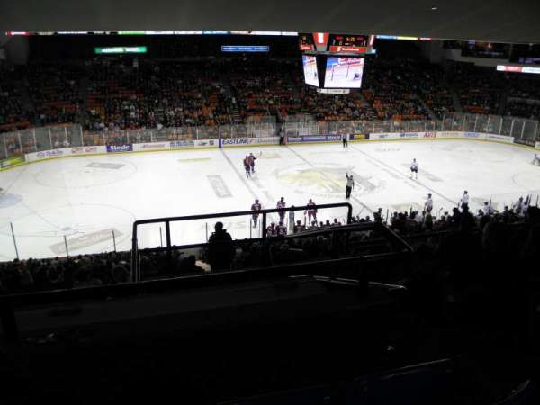 Scotiabank Centre, section: 42, row: E, seat: 1