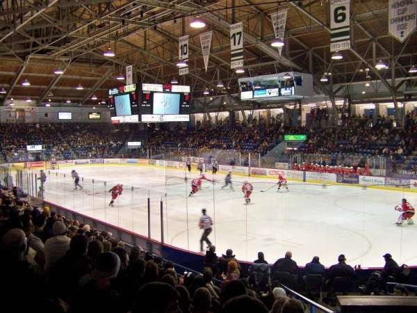 Sudbury Arena, section: 1, row: J, seat: 7