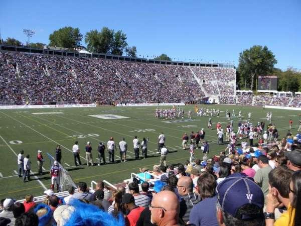 Percival Molson Memorial Stadium, section: X1, row: 7, seat: 32