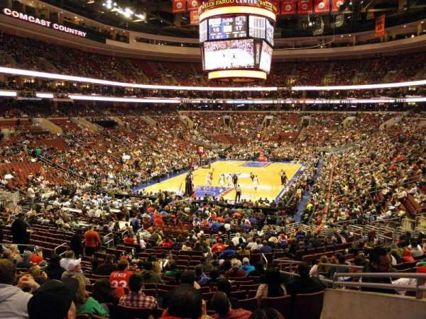 Wells Fargo Center, section: 120, row: 23, seat: 16