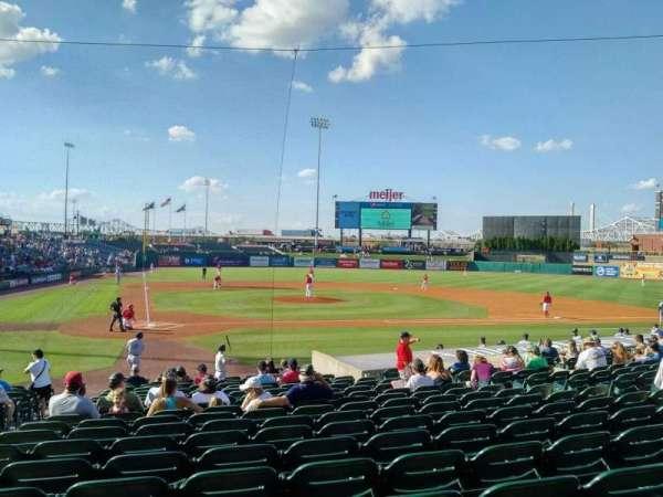 Louisville Slugger Field, section: 112, row: U, seat: 13