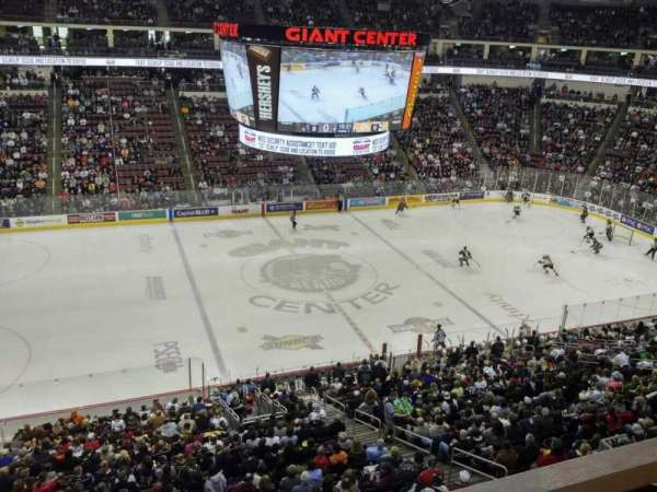 Giant Center, section: 219, row: A, seat: 10