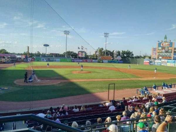Whitaker Bank Ballpark, section: 204, row: 5, seat: 1