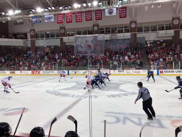 Goggin Ice Center, section: 14, row: D, seat: 6