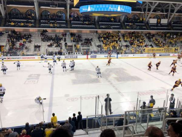 Yost Ice Arena, section: 3, row: 15, seat: 5