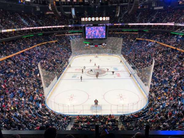 KeyBank Center, section: 327, row: 4, seat: 7