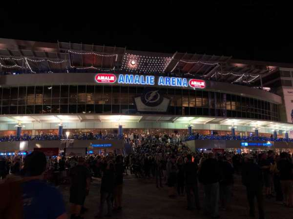 Amalie Arena, section: Exterior