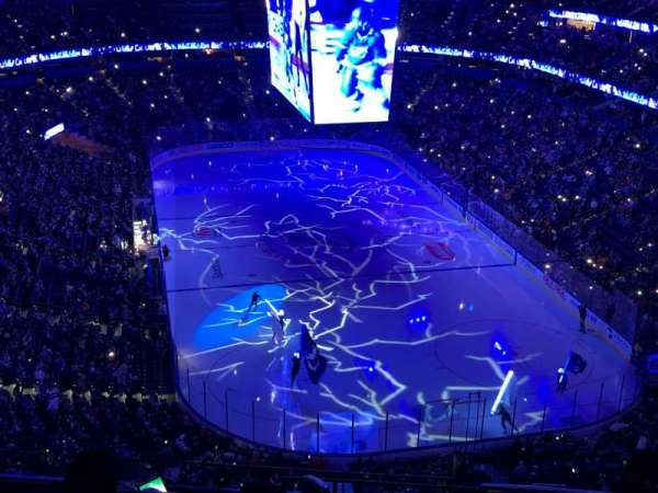 Amalie Arena, section: 325, row: J, seat: 4