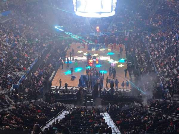 Amway Center, section: 217, row: 5, seat: 4
