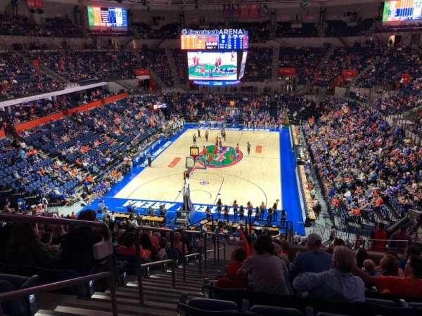 Exactech Arena, section: 117, row: 16, seat: 47