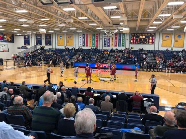 Koessler Athletic Center, section: 2, row: J, seat: 5