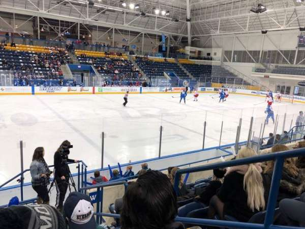 Mattamy Athletic Centre at the Gardens, section: W6, row: G, seat: 2
