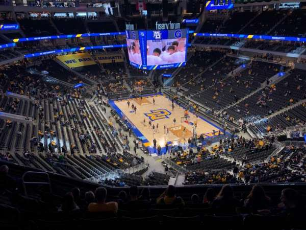 Fiserv Forum, section: 217, row: 9, seat: 14