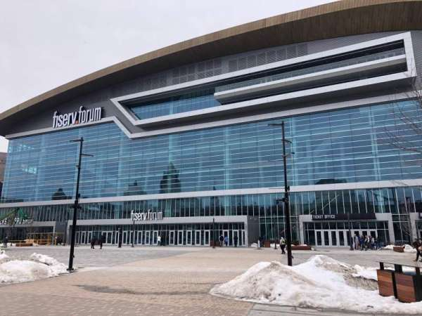 Fiserv Forum, section: Exterior