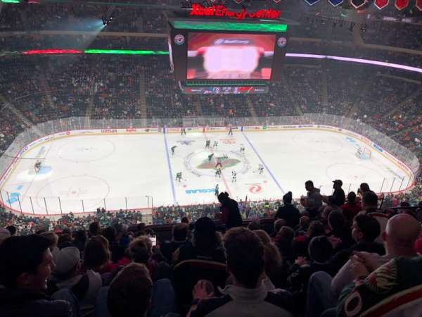 Xcel Energy Center, section: 220, row: 9, seat: 11