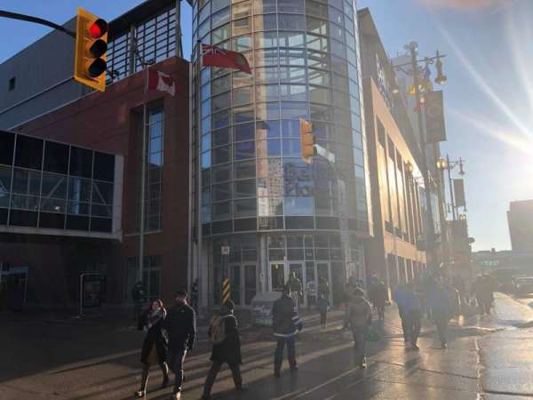 Bell MTS Place, section: Exterior