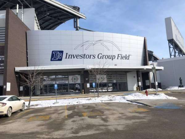 Investors Group Field, section: Exterior