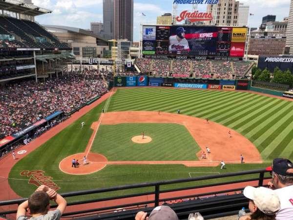 Progressive Field, section: 448, row: C, seat: 11