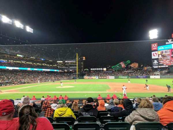 Oracle Park, section: 108, row: L, seat: 10