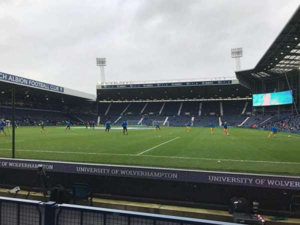 The Hawthorns, section: A5, row: F, seat: 22