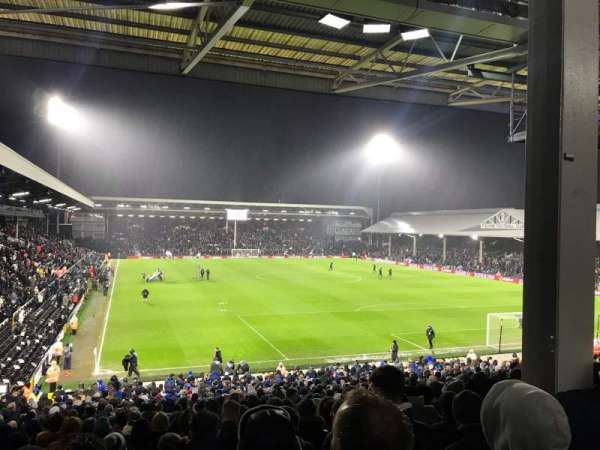 Craven Cottage, section: P6, row: MM, seat: 139