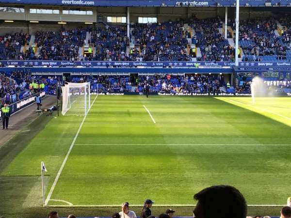 Goodison Park, section: LV1, row: K, seat: 45