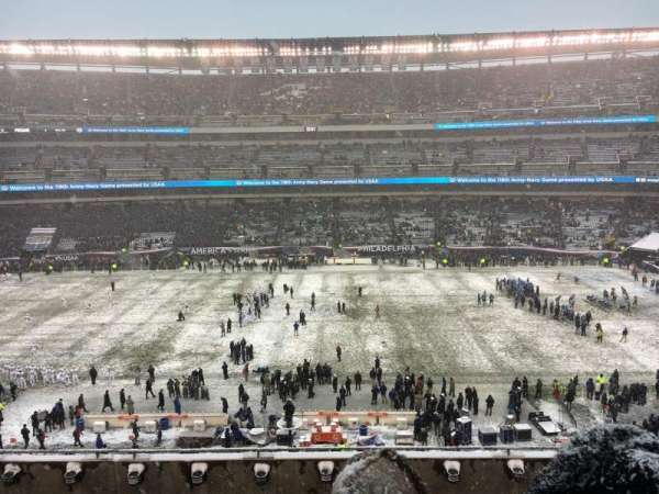 Lincoln Financial Field, section: C1, row: 11, seat: 2