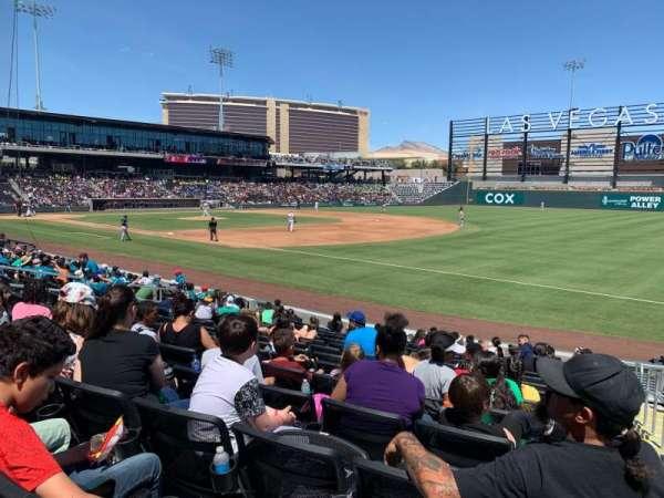 Las Vegas Ballpark, section: 104, row: N, seat: 19-20