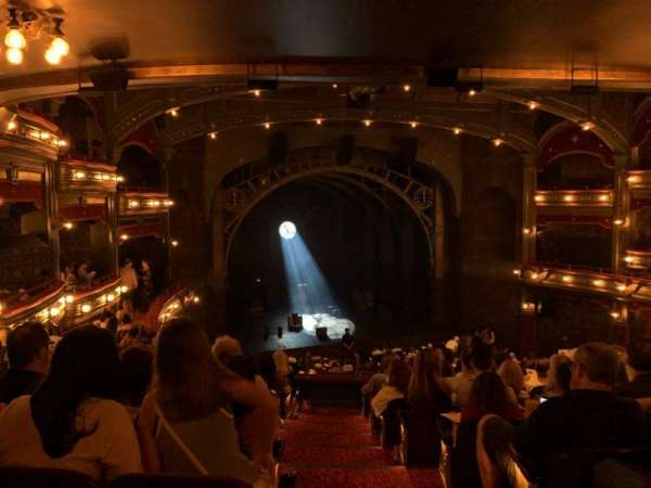 Lyric Theatre, section: Dress Circle L, row: K, seat: 1