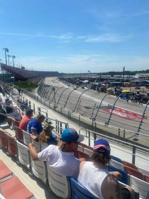 Darlington Raceway, section: J, row: 8, seat: 12