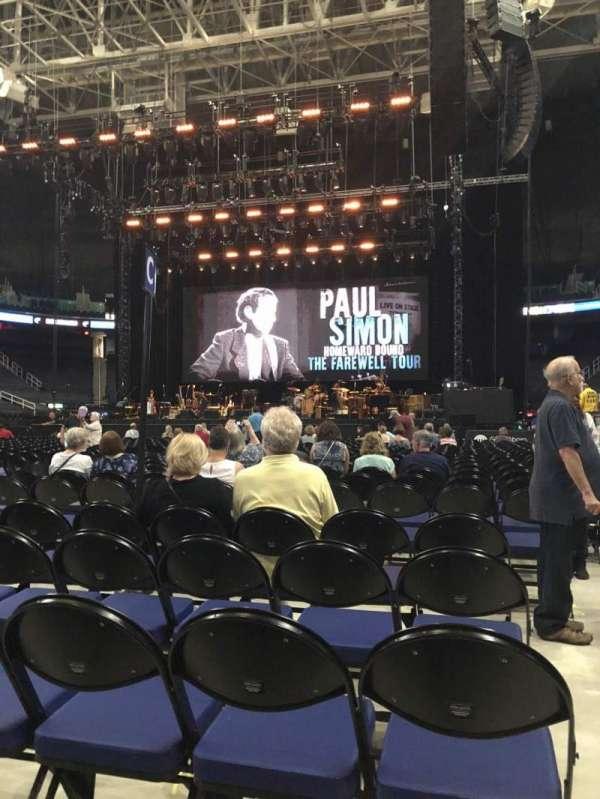 Greensboro Coliseum, section: C, row: 25, seat: 12