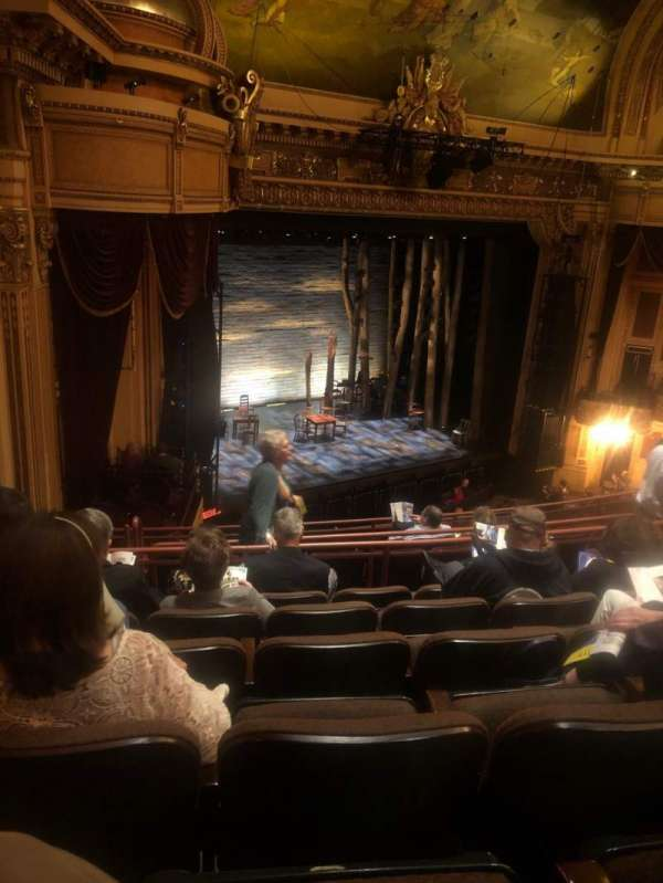 Hippodrome Theatre, section: Left Middle Balcony, row: J, seat: 231